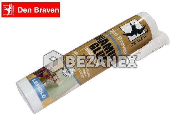 18.00 Den Braven - MAMUT Glue 290ml biely, ks