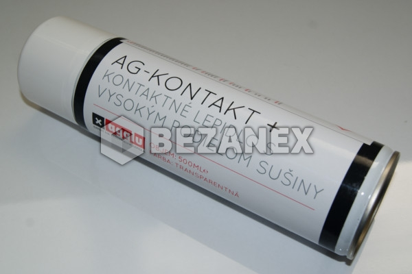 18.01 Agglu - AG KONTAKT HIGH + lepidlo v spreji 500 ml,ks