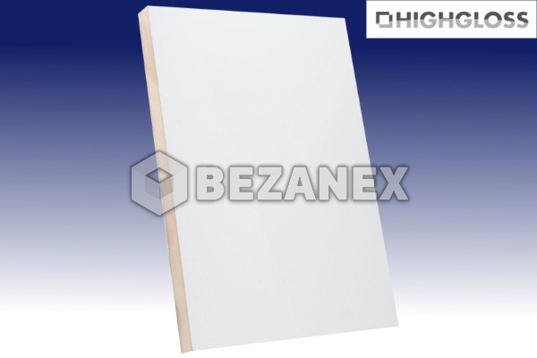 24.01 AGT PLAIN - MDF 601 HG White / 18x1220x2800mm ks
