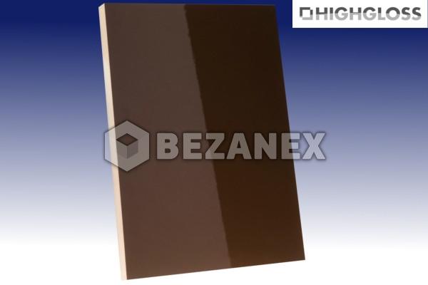 24.01 AGT PLAIN - MDF 620 HG Brown / PVC/18x1220x2800 mm/, ks