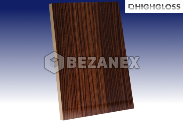 24.02 AGT WOOD - MDF Doska 602 European Teak /18x1220x2800mm/ ks