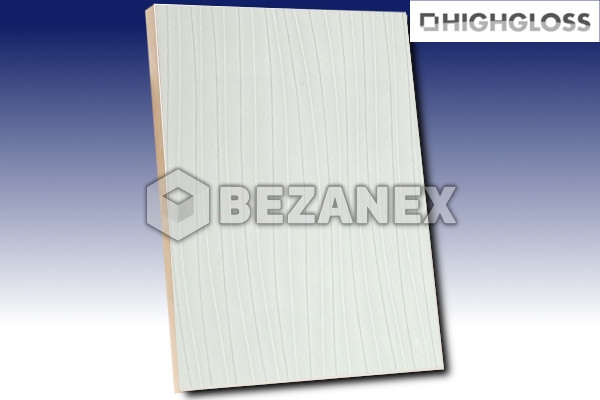 24.02 AGT WOOD - MDF Doska 664 Wavy white/18x1220x2800mm/ks