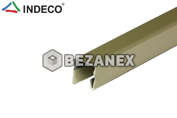 25.06 INDECO OC vodorovný profil satina 10mm/2,4m ks