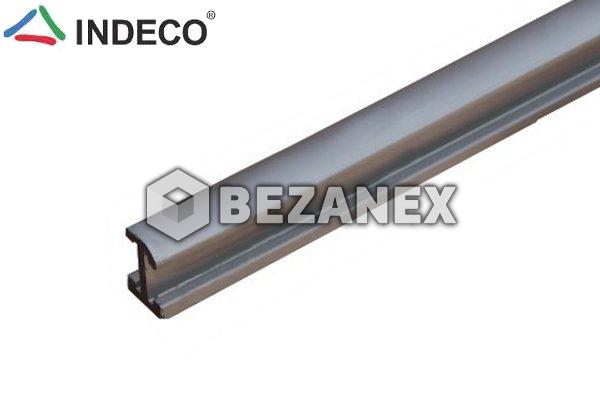 25.02 Indeco H- profil na sklo  AL  - šampáň - /2,00m/, ks