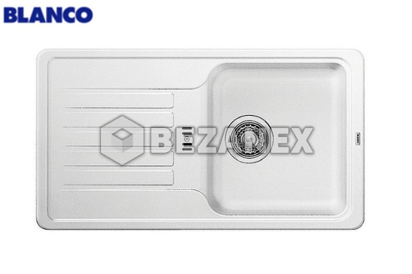 28.03  Drez  BLANCO - granit - Favos mini - biely, ks